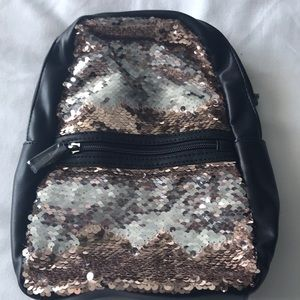 Handbags - Flip sequins mini backpack